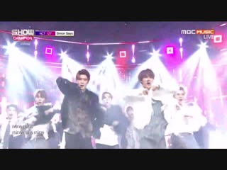 NCT 127 - Simon Says @ Show Champion 181205