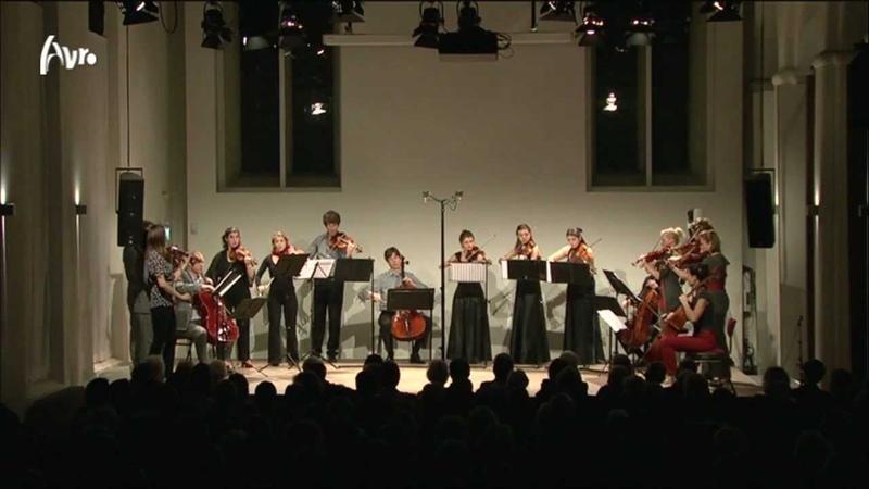 Van Bree Allegro in d kl.t. voor vier strijkkwartetten