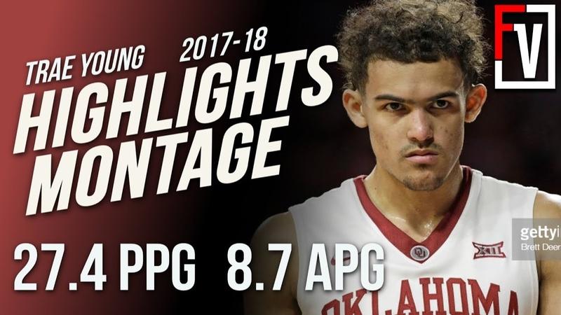 Trae Young Oklahoma Freshmen Season Highlights Montage 2017-18   27.4 PPG, 8.7 APG, Curry 2.0!