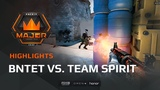 Highlights: BnTeT vs Team Spirit, FACEIT Major: London 2018 - New Challengers Stage