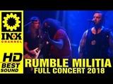 RUMBLE MILITIA - Full Concert 1152018 @8ball Thessaloniki Greece
