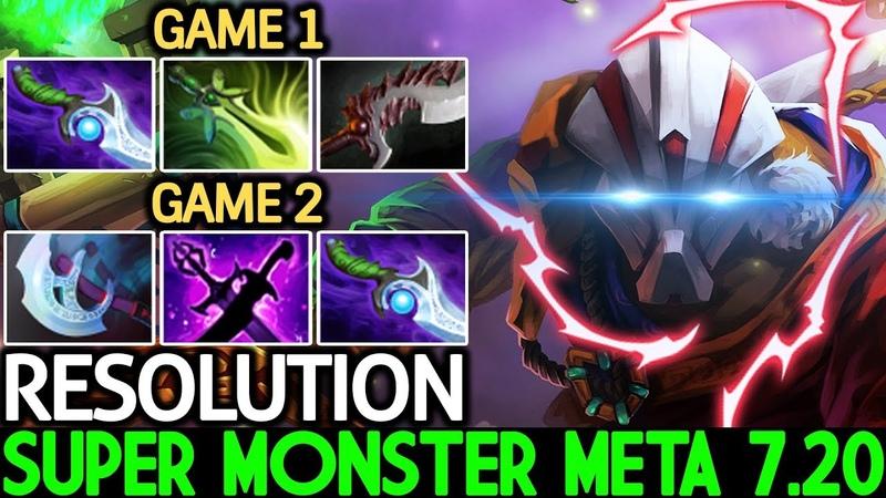 Resolution [Juggernaut] Super Monster Meta 7.20 Game is Easy Dota 2