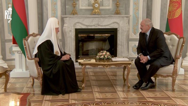 Патриарх Кирилл встретился с Президентом Республики Беларусь А.Г. Лукашенко