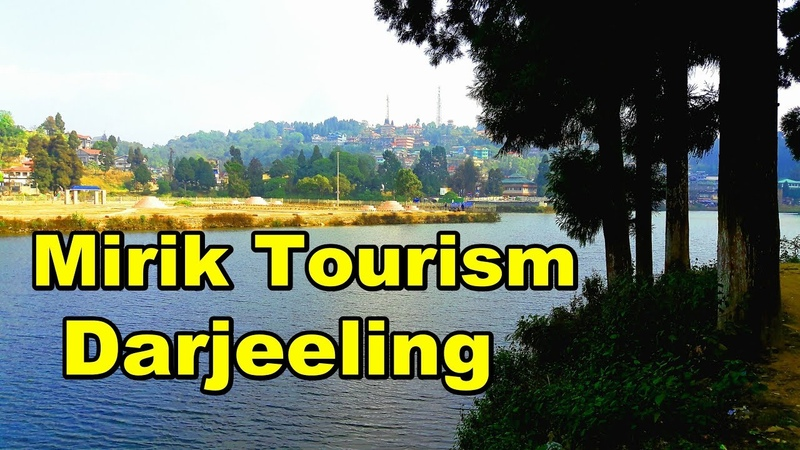 Mirik lake in darjeeling west bengal,india   Mirik tour video   Sumendu Lake