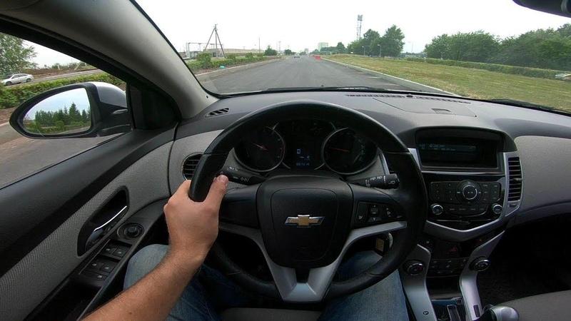 2012 Chevrolet Cruze 1.6L POV Test Drive