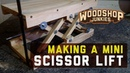 How to make your own small scissor lift jack STEP BY STEP with plans