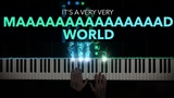 Gary Jules Mad World Easy Piano Cover