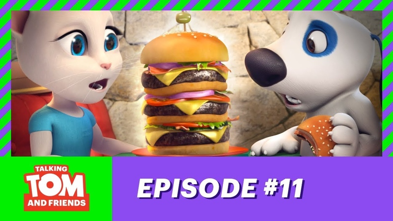 Talking Tom and Friends - Hank the Millionaire (Season 1 Episode 11)