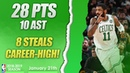 Kyrie Irving Career-High on Steals | 26 PTS, 10 AST, 8 STL | BOS vs MIA | 22.01.2019 | MH