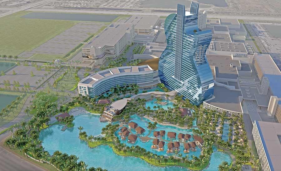 В Голливуде строится Seminole Hard Rock Hotel