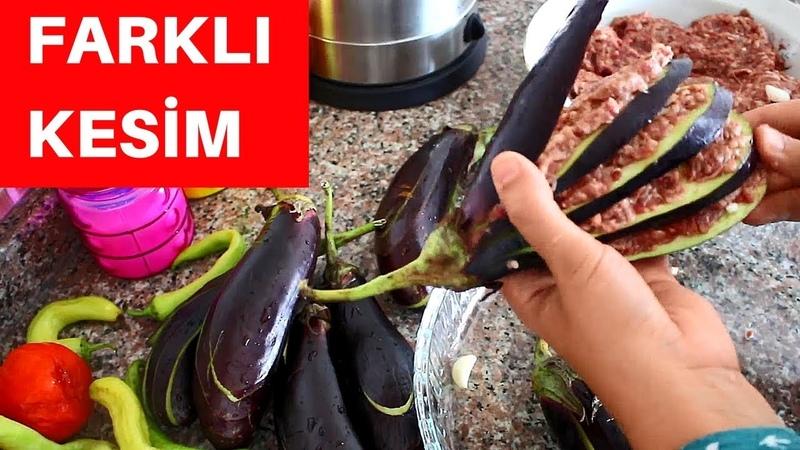 İlginç Patlıcan Yemeği | Yelpaze Kebabı Tarifi