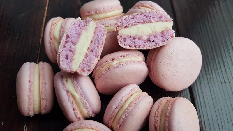 Макарон с ПОНИЖЕННЫМ СОДЕРЖАНИЕМ САХАРА🌿французская меренга🌿Less sugar macaron