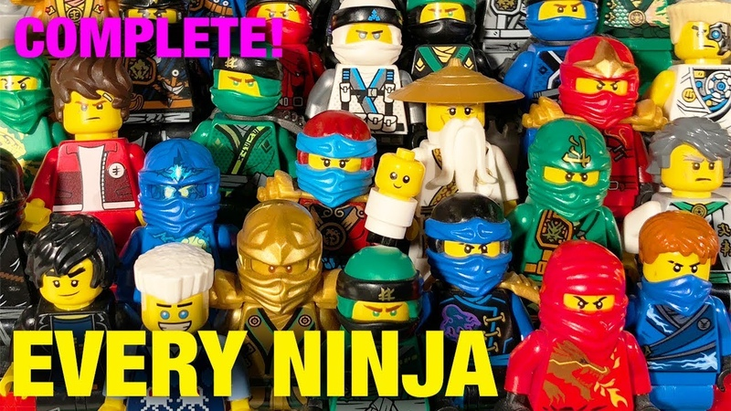 LEGO Ninjago COMPLETE Ninja Suit FULL COLLECTION Updated! (2011-2018)