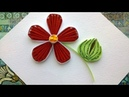 Quilling designs flowers How to make a paper Quilling design flower with comb