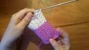 Вязание: Интересный простой узор спицами/