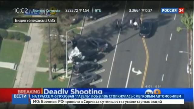 Новости на Россия 24 Стрельба в США погиб подросток шестеро раненых в критическом состоянии