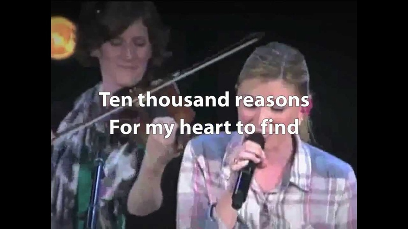 10000 Reasons Bless the Lord Matt Redman played by Bethel Church Large Lyrics ver 1