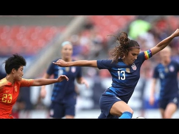 USA vs. China Women's Friendly (1080p 60 fps)