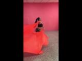 Восточный танец в исполнении инструктора Виктории! фитнес-клуб МАЛИНА