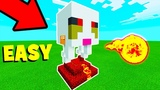 Minecraft How To Make a Baby Ghast House