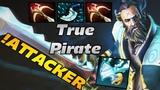 Attacker Kunkka THE ONLY TRUE PIRATE of Dota 2