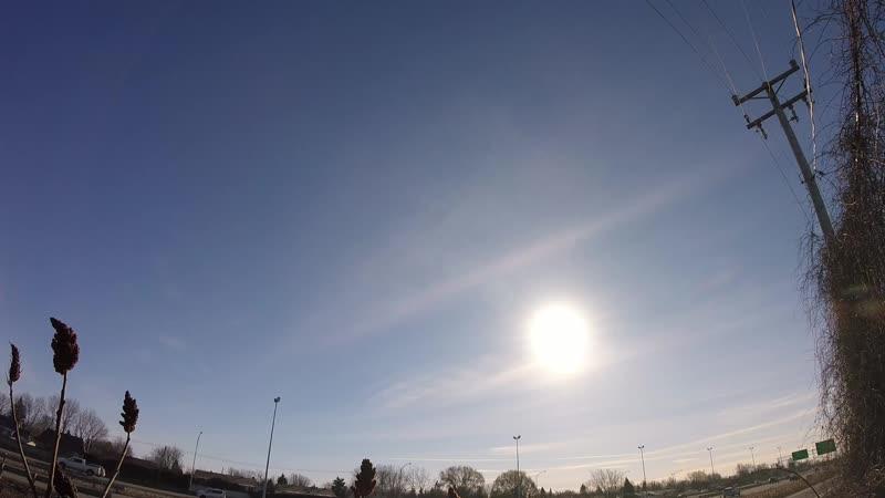 2018 Micro Timelapse Sunrise Supersaturation Cirrus Stratus Cumulus Clouds Seeding 27 Dec