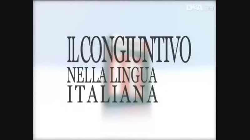 10 Il congiuntivo nella lingua italiana