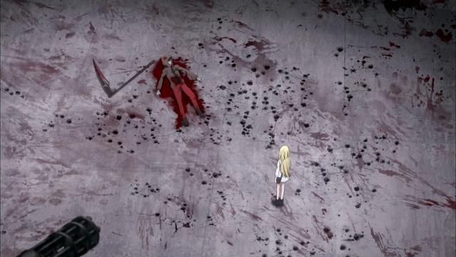 [SS] Ангел кровопролития Satsuriku no Tenshi 6 серия русская озвучка [Ada Higa Cruel]