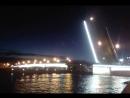Санкт Петербург Проход баржи под мостом Литейном 14 08 2018 год