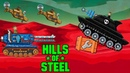 Hills of steel MAMMOTH Tank vs All boss level Games bii