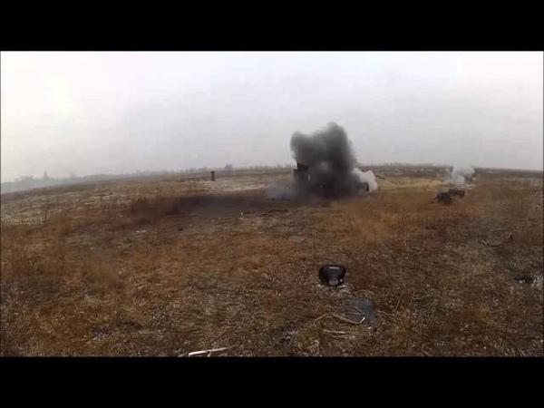 ПТРК Джавелин, противотанковые гранатометы AT4 и РПГ-7 Стрельба по мишеням на полигоне