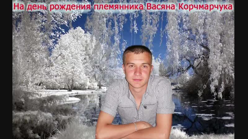 Поздравление племяннику Васе Корчмарчуку на день рождения 13 01 2019