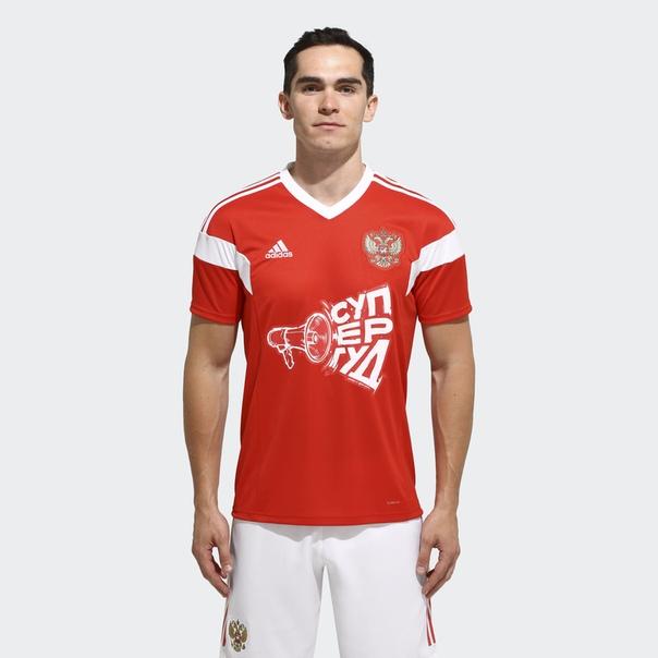 Футболка СуперГуд 3 by adidas x Сергей Шнуров