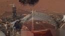 Ученые первые записали шум ветра на Марсе