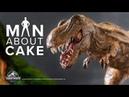 Epic Dinosaur Cake for JURASSIC WORLD FALLEN KINGDOM Premiere Man About Cake