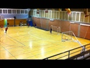 Ejercicio Futbol Sala Lanzamientos y Repliegues