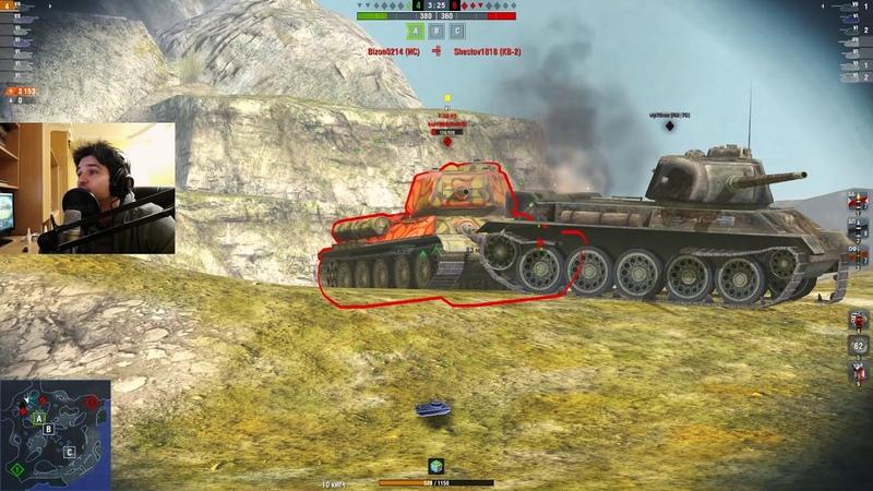 WoT Blitz -Бесстрашный танк Т-43. Советская имба- World of Tanks Blitz (WoTB)