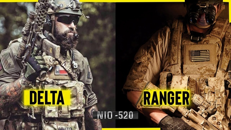 DELTA FORCE *VS* 75th Ranger Regiment | SPECIAL FORCES 2018 |TITANS OF AMERICA