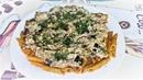 Невероятно вкусные баклажаны в сметане с макаронами в соусе или как приготовить обед за 30 минут.