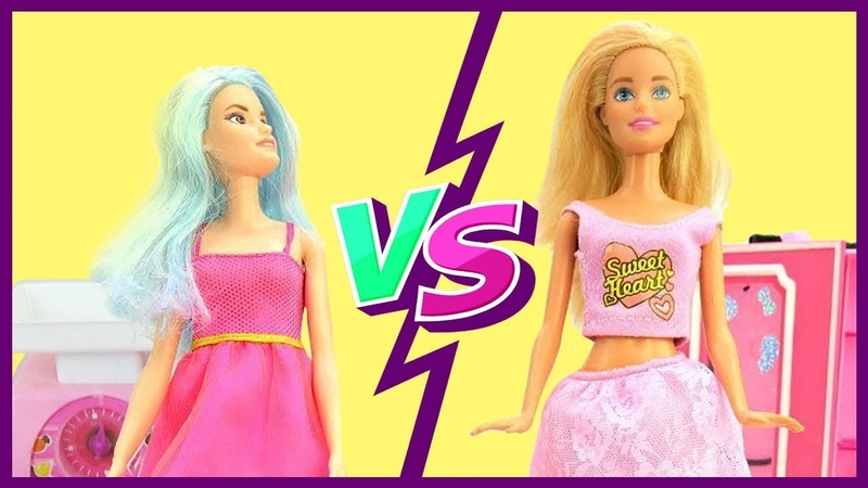 Barbie dolls on audition - Toy videos.