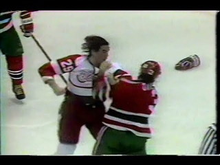 Randy McKay vs Ken Daneyko Jan 28, 1991