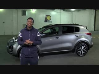 Victor Oladipo surprised Renita, a domestic violence survivor, and gave her the car