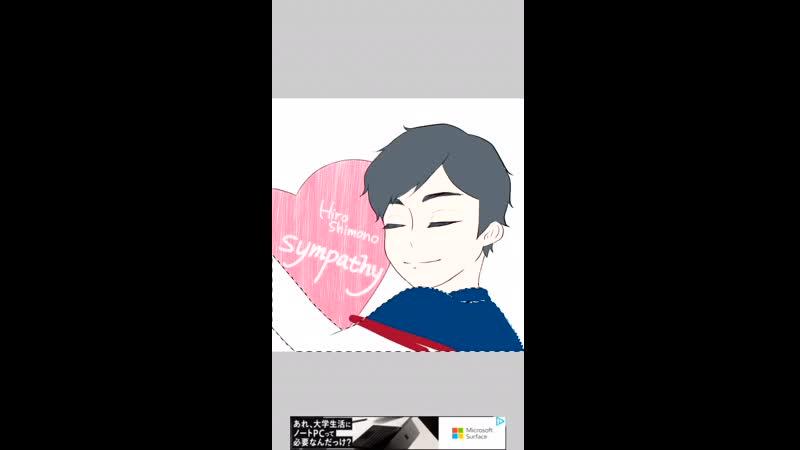 @haroharu_sh421 (twitter) draws Hiro Shimono