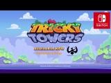 Tricky Towers - Релизный трейлер (Nintendo Switch)