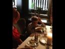 Обедаем с сыном