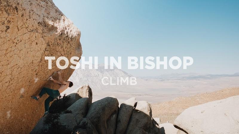 Climb   Toshi Takeuchi in Bishop Part I