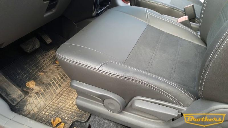 Авточехлы для Suzuki SX 4, (2006 - 2014), серия Alcantara