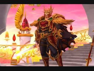 World of Warcraft: Battle for Azeroth - очередной кач - Паладин танк Орда
