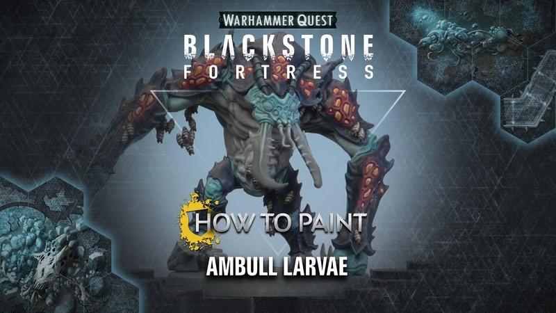 How to Paint Ambull Larvae