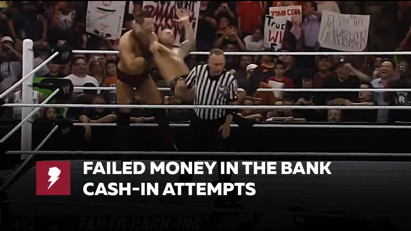 [My1] Failed Money in the Bank cash-in attempts WWE Top 10, Aug. 27, 2018